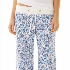 Lilly Pulitzer Star Crush Linen The Beach Pant